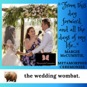 Margie McCumstie on creating vows that wow
