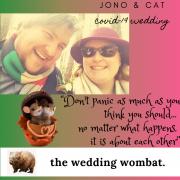 Jono & Cat Covid-19 Wedding