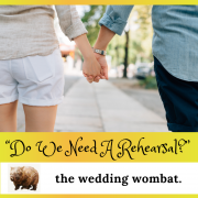 Margie McCumstie from Metamorphis Ceremonies hosts The Wedding Wombat