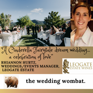 Rhiannon Hurtz from Leogate Estate Wines